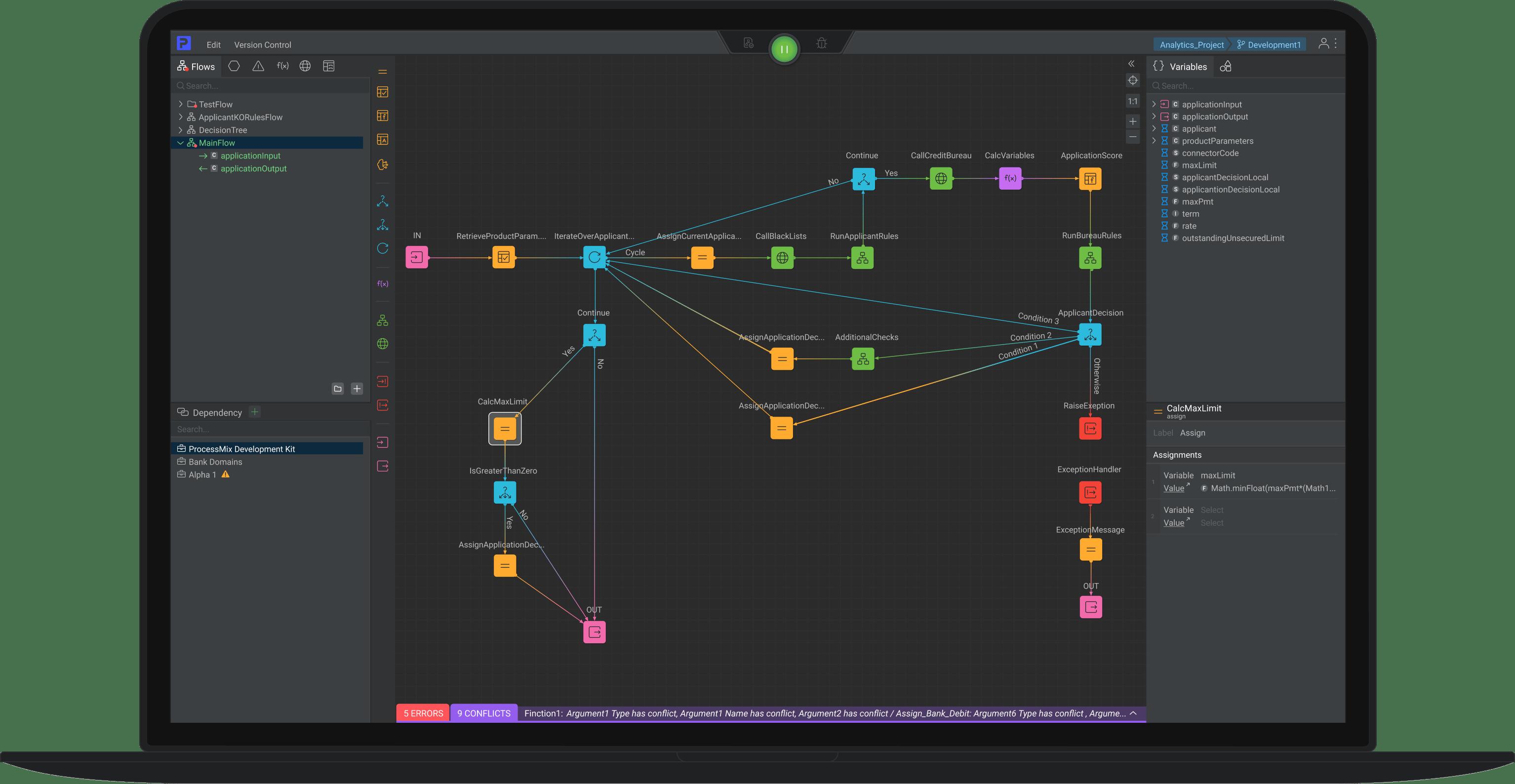 ProcessMix application